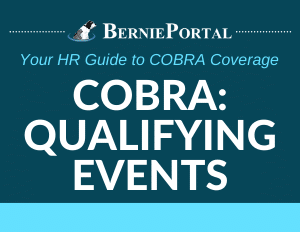 COBRA Qualifying Events Infographic